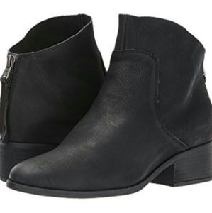 Lucky brand leather booties size 7.5